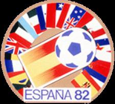 Logo Svjetskog nogometnog prvenstva održanog u  Španjolskoj 1982. godine