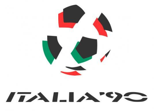 Logo Svjetskog nogometnog prvenstva održanog u Italiji 1990. godine