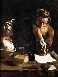 Arhimed, Domenico Fetti (1588-1623)